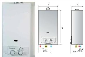 Instalación y reparación de calentadores