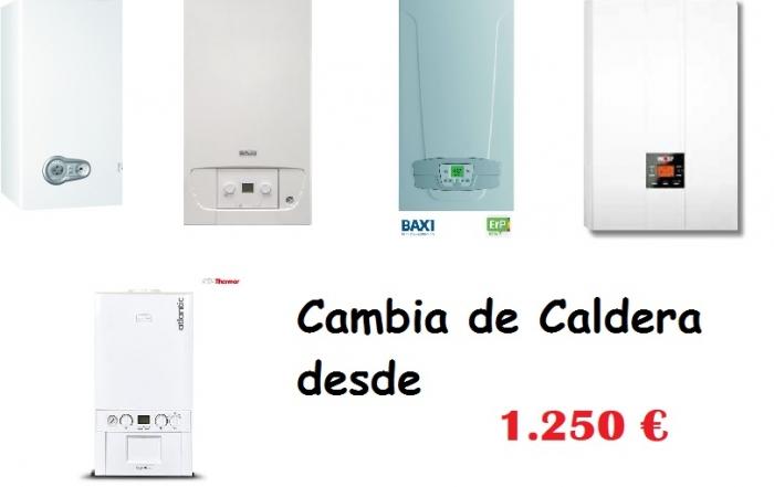 CAMBIO CALDERA EN PONTEVEDRA