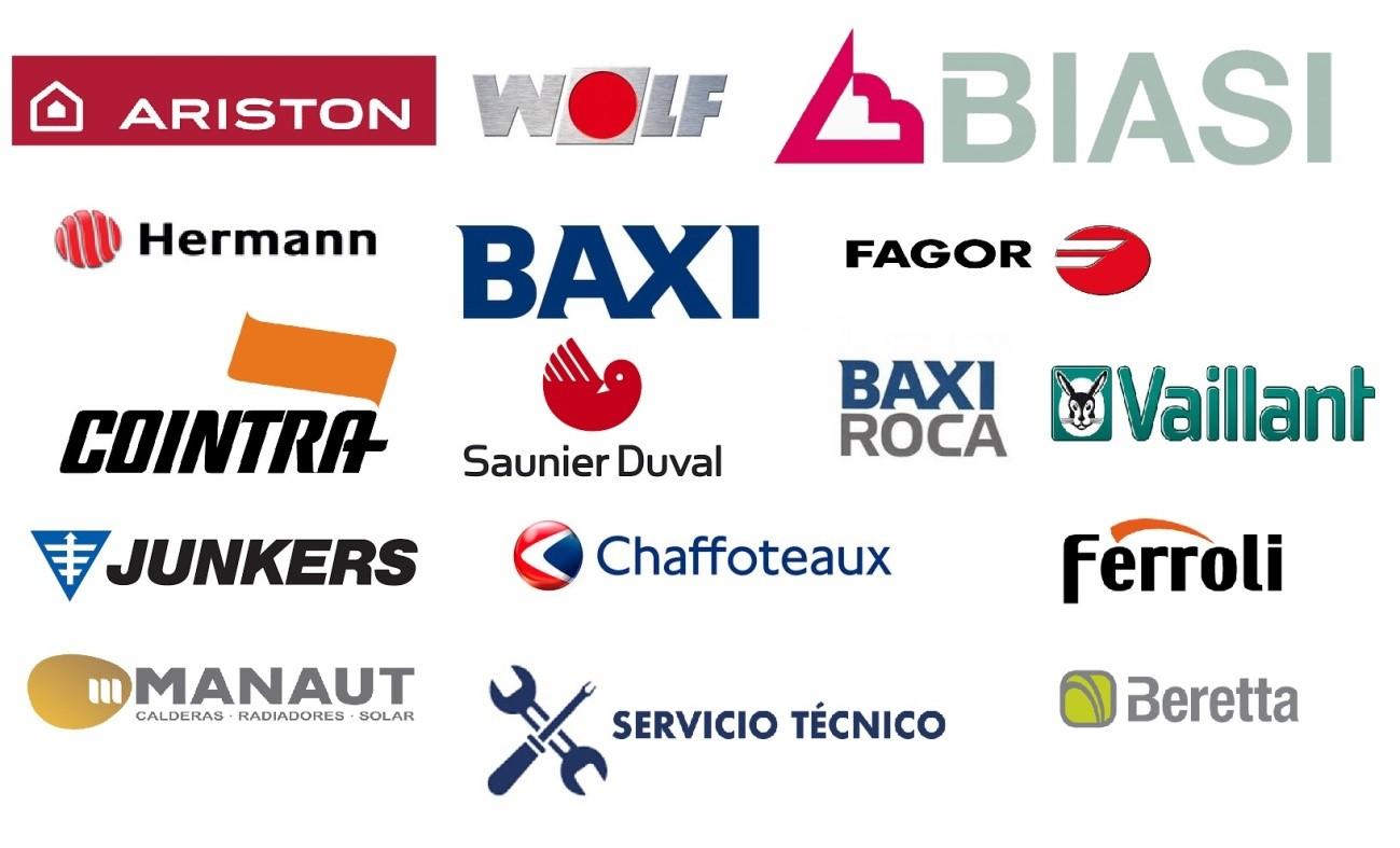 Logos de fabricantes de calderas