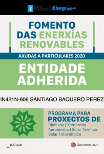 Empresa adherida ayudas energias renovables en Galicia 2020